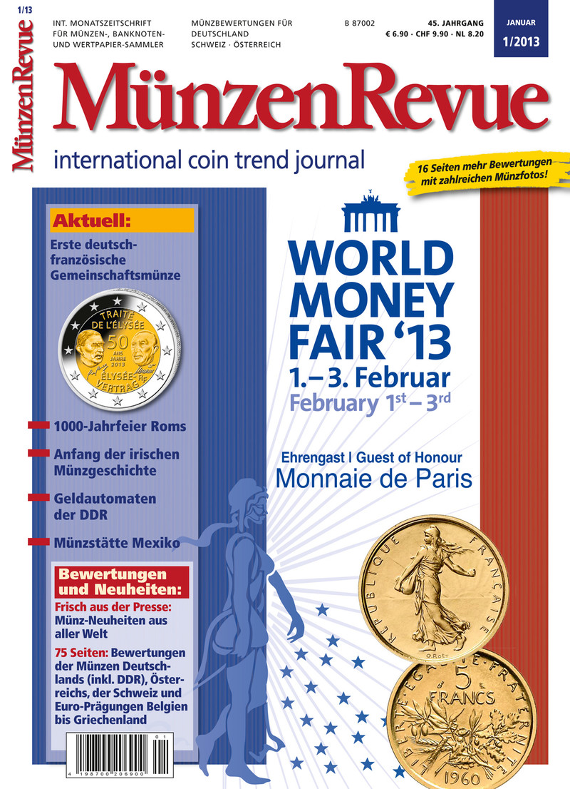 Visuell Gietl Verlag überarbeitet Münzenrevue Und Münzen Sammeln